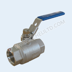 2PC 2000WOG BALL VALVE