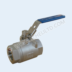 2PC HEAVY 2000WOG BALL VALVE