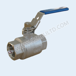 2PC 2000WOG SAE BALL VALVE