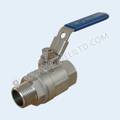 2PC BALL VALVE-MF